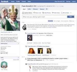 pope fb