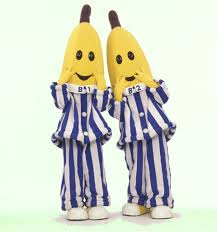 bananas in pjs