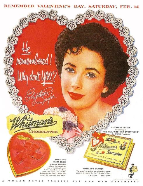 Liz Taylor valentine