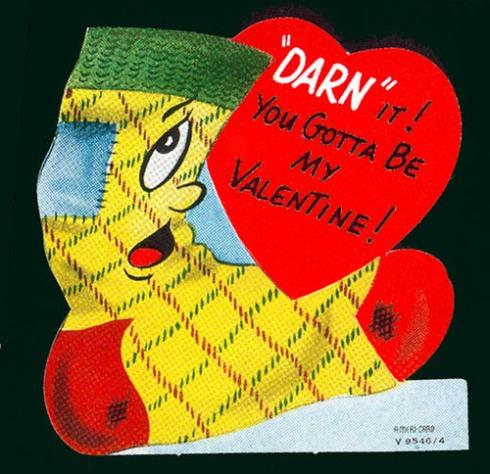 Sock valentine